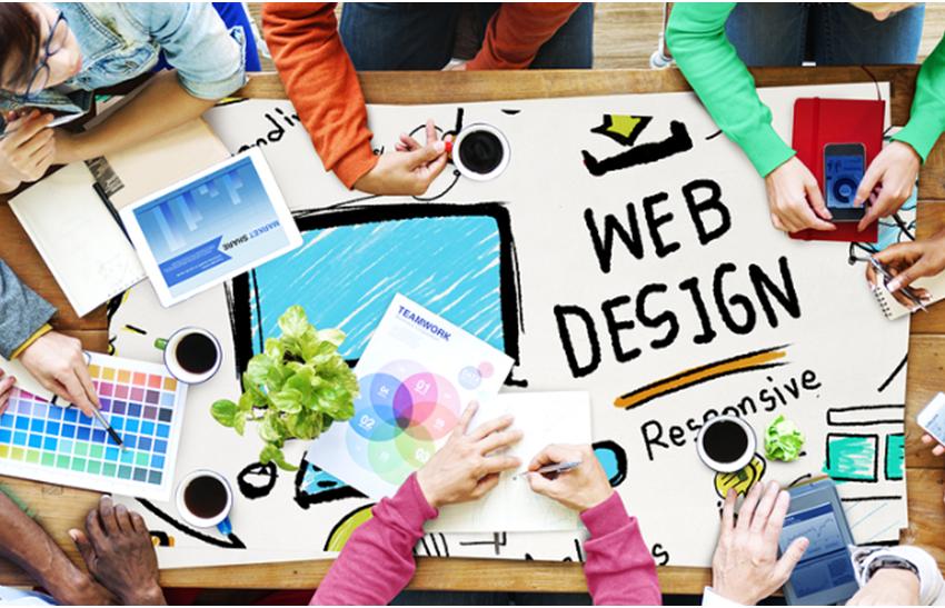 Website designs that match UI Perception