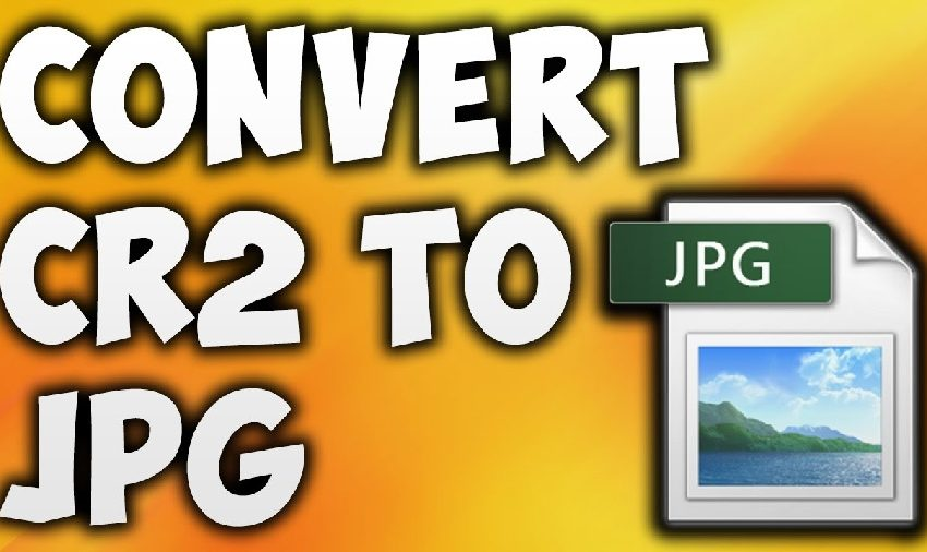 How to Convert a CR2 Image File to JPG Online